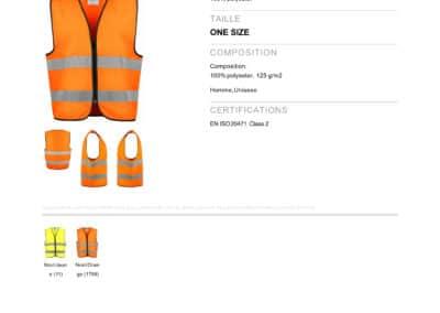 ProJob 6709 VESTE EN ISO 20471 CLASS 2