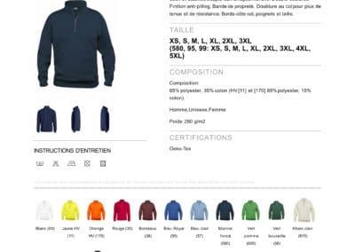 Pull 021033CliqueBasic Half Zip