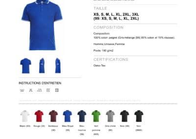 Tee-shirt 028219CliqueAmarillo