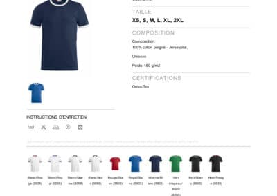 Tee-shirt 029314 CliqueNome