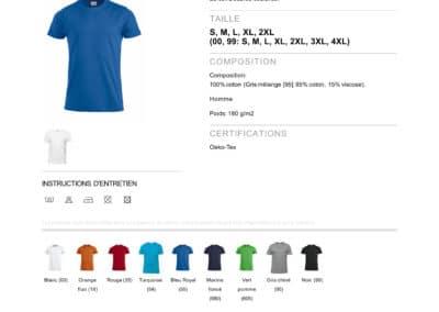 Tee-shirt 029340 CliquePremium-T