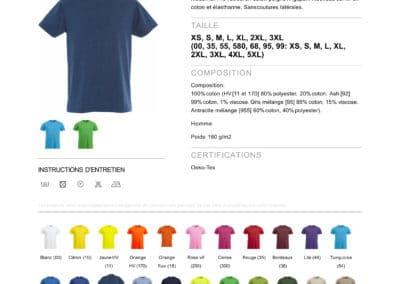 Tee-shirt 029360 CliqueNew Classic-T