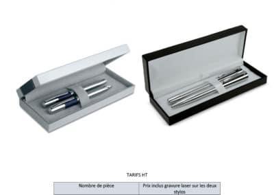 Coffret deux stylos